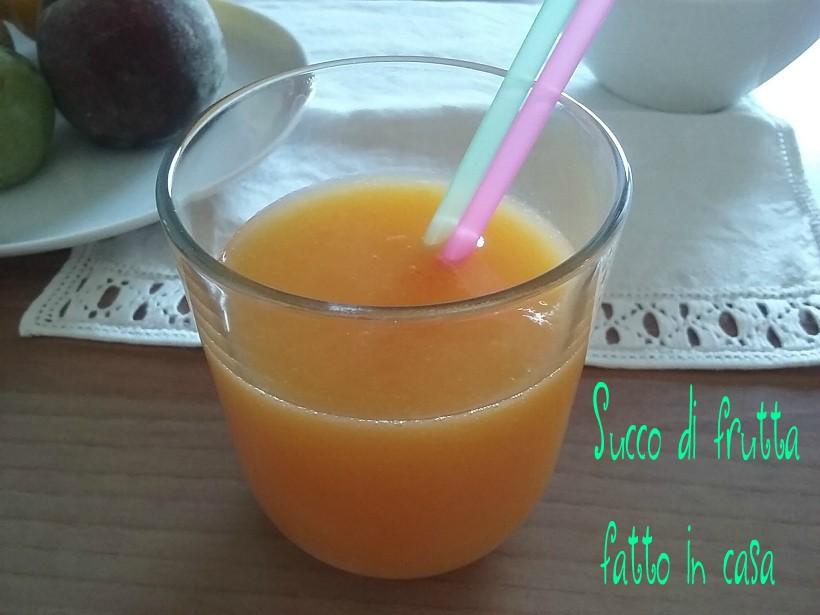 succo di frutta fatto in casa semplice buonissimo e genuino On succo di frutta fatto in casa