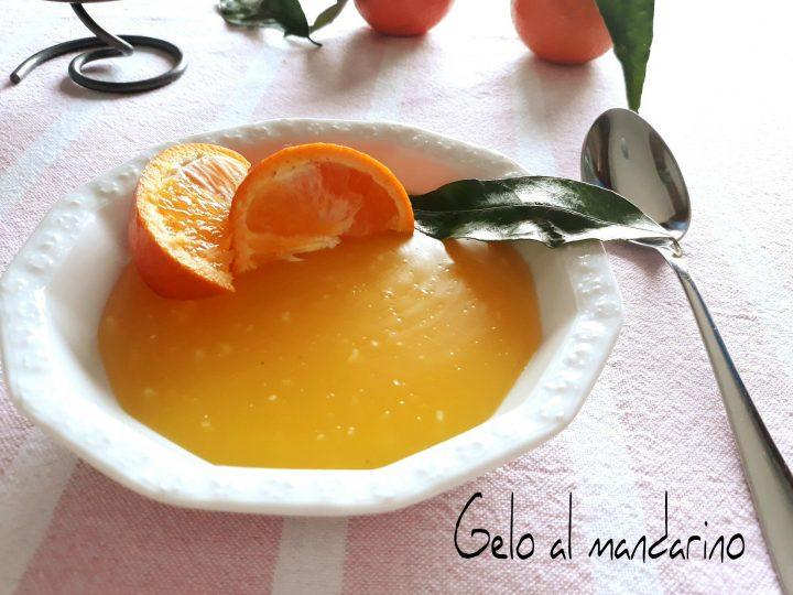 gelo al mandarino