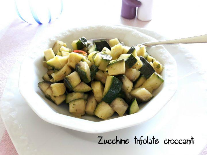zucchine trifolate croccanti