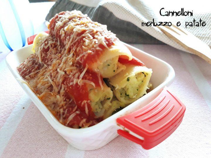 cannelloni merluzzo e patate