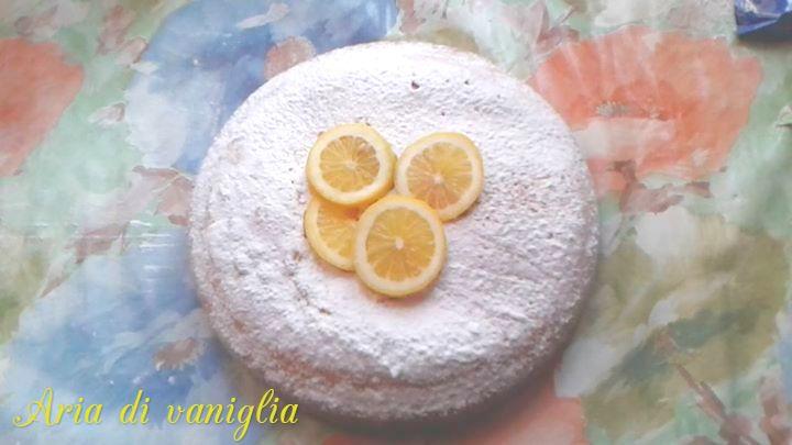 Torta al limone (senza latticini)