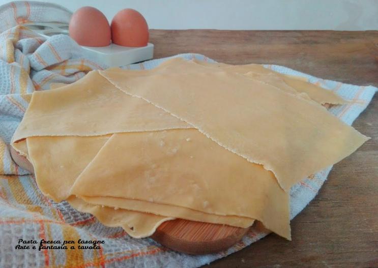 Ricetta X Lasagne Fatte In Casa.Pasta Fresca Per Lasagne Arte E Fantasia A Tavola