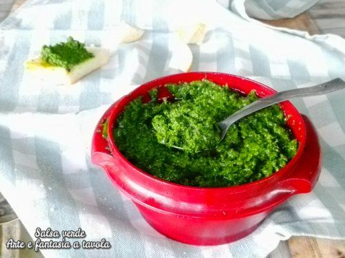 Salsa verde seconda versione