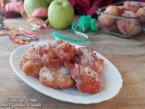 Fritole con le mele