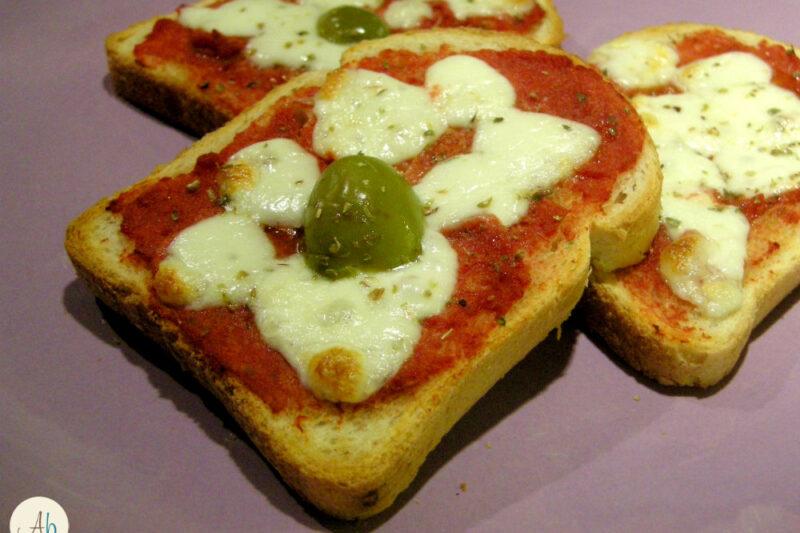 Pizzette di Pane in Cassetta