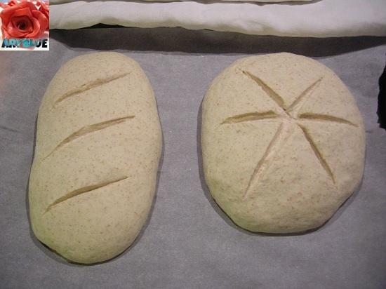 Pane Cafone prima della lievitazione