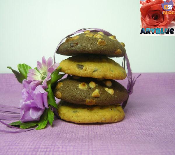Cookies Avena ai Due Cioccolati