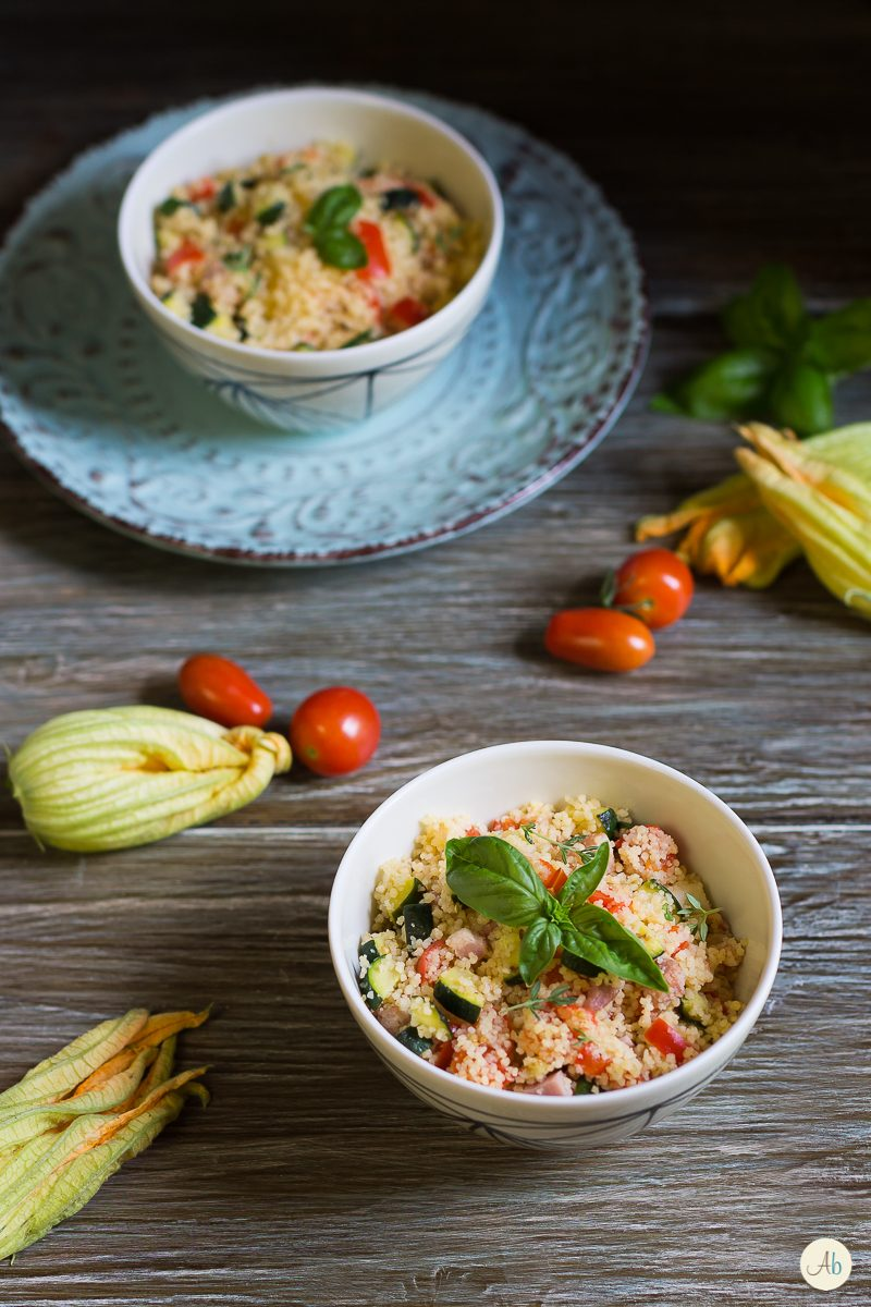Cous cous con verdure cotte
