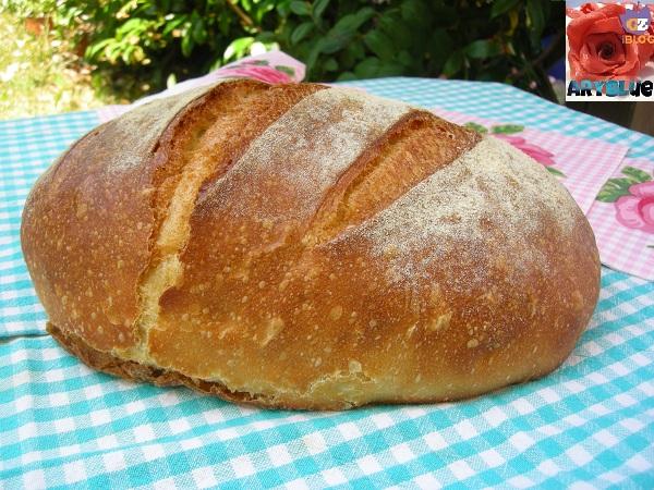 Pane di semola rimacinata di grano duro con Pasta madre