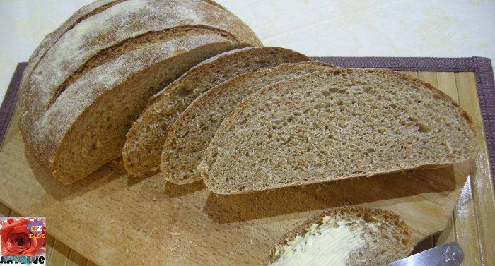 Pane Rustico con Farina Macinata a Pietra e Pasta Madre