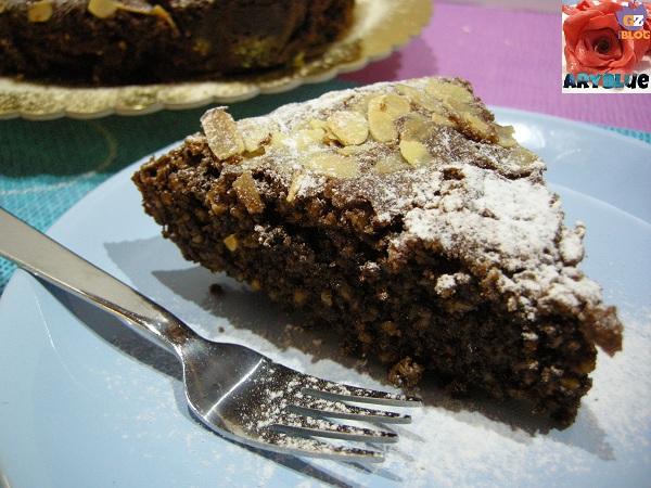 Torta Caprese Cioccolato al Latte e Mandorle