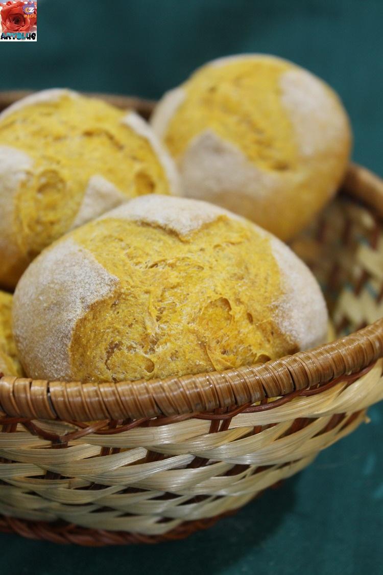 Pane alla Zucca con pasta madre