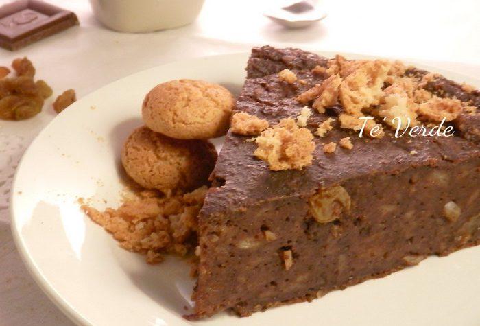 Torta di Pane Raffermo al Cacao