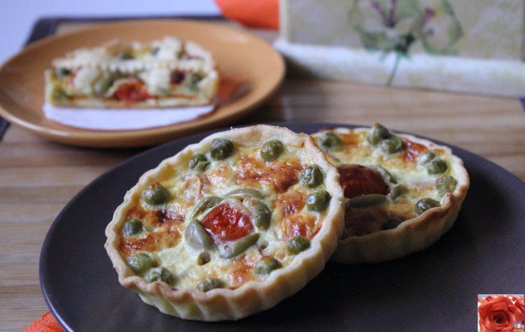 Mini Quiche Vegetariane