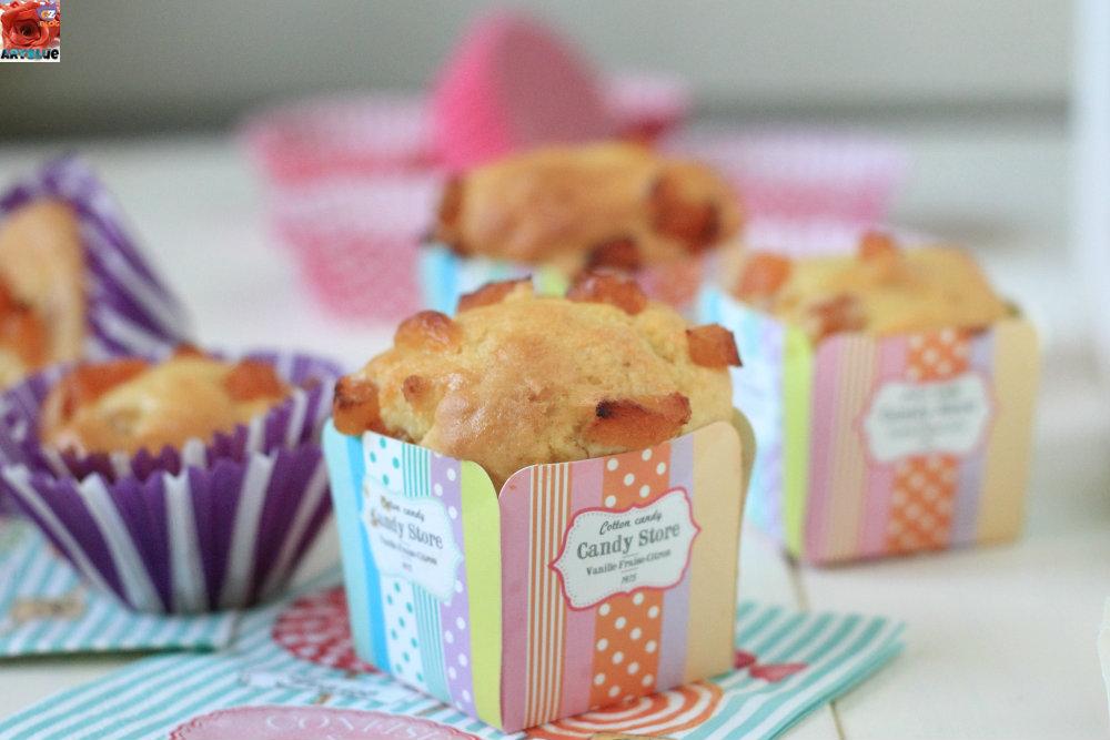 Muffins con Albicocche Secche