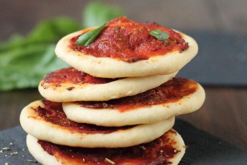 Pizzette Veloci con Pasta Madre