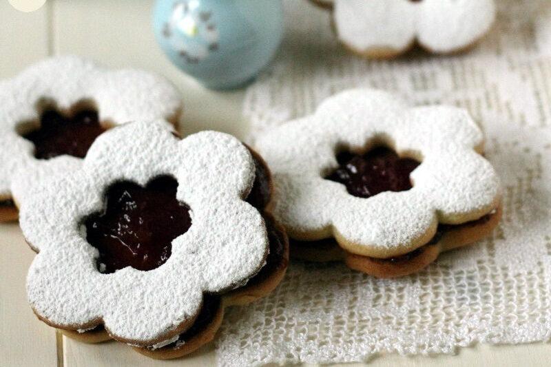 Biscotti Margherita con Confettura