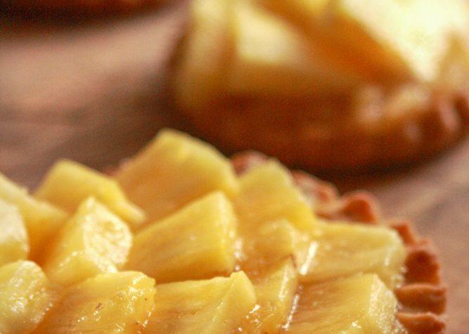 Crostatine all'Ananas
