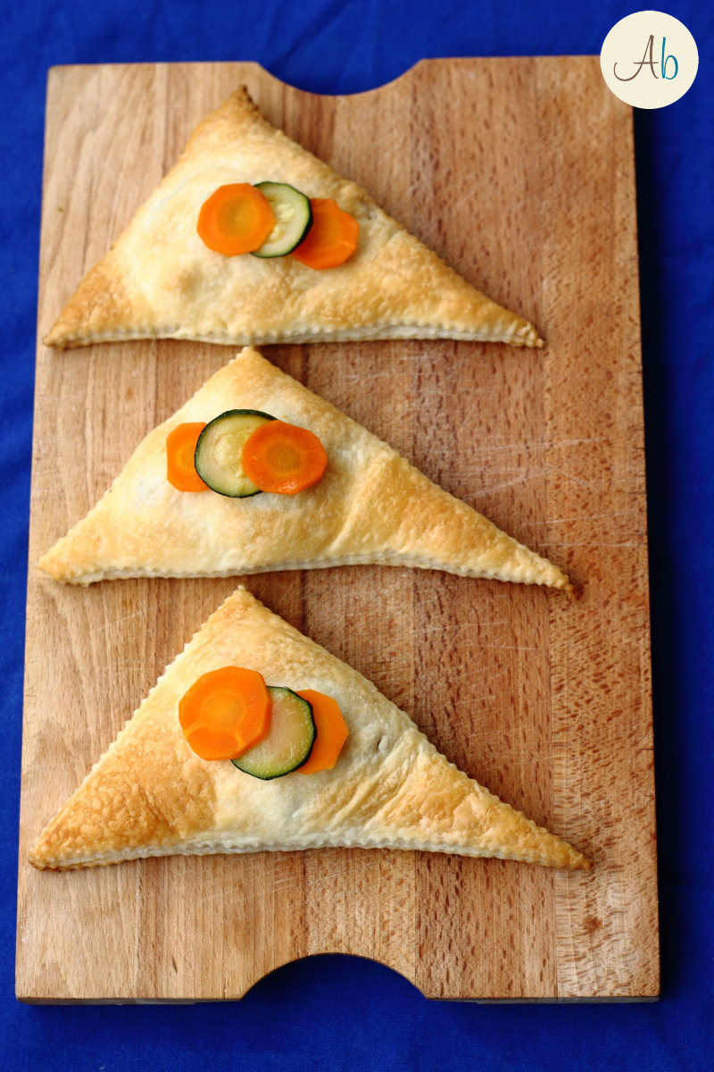 Triangoli di Sfoglia con Verdure