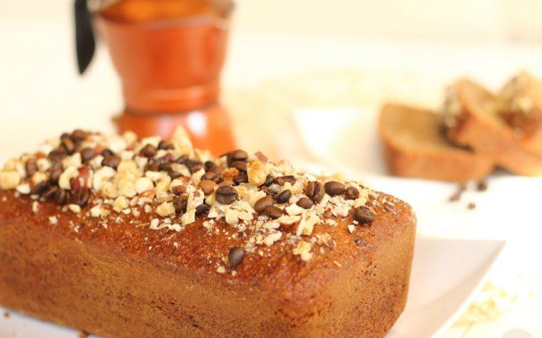 Plumcake al Caffe' e Nocciole
