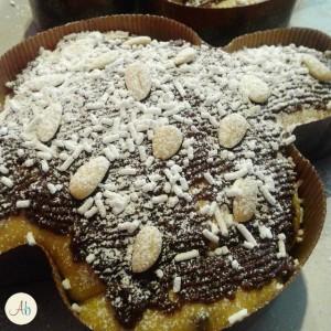 Colomba Pasquale Cioccolato ed Arancia Glassata al Cacao