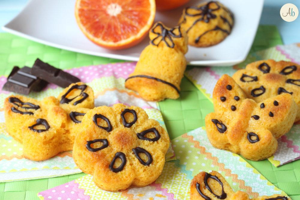 Tortine carota e cioccolato
