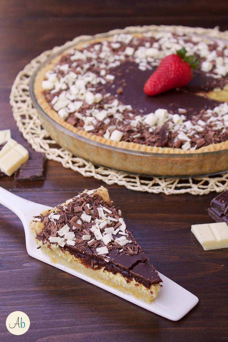 Cheesecake cotta al Cioccolato