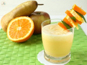 Frullato Mela Arancia e Latte