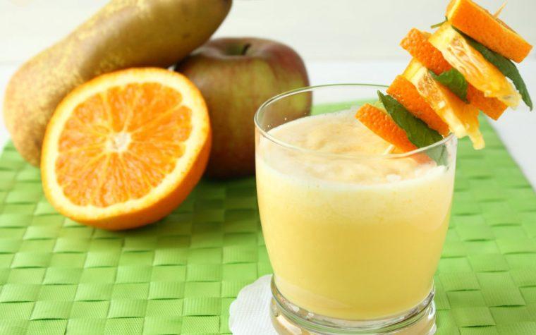 Frullato di Mela e Arancia