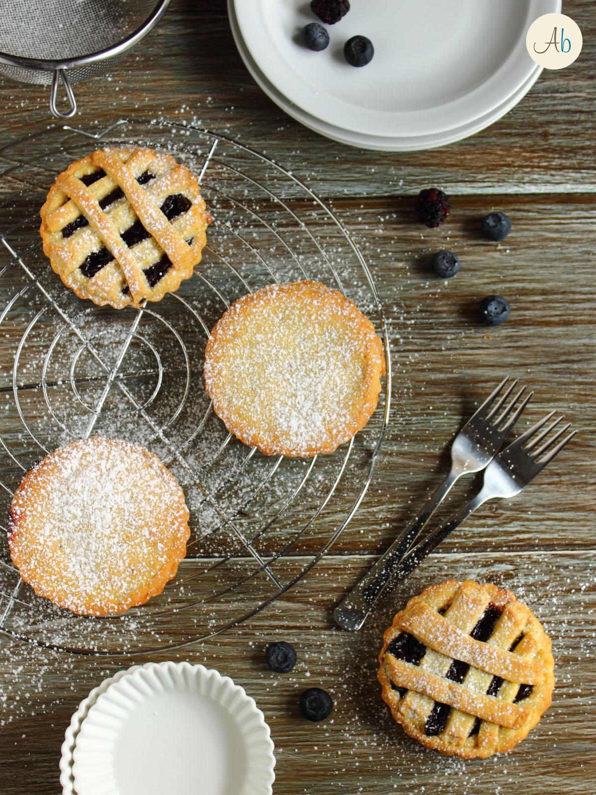 Mini Pie ai Frutti neri