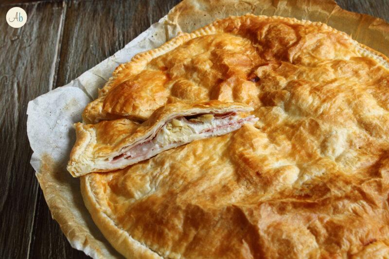 Torta Salata con Carciofi e Spalla Cotta