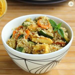 Insalata di Quinoa e Pollo al Curry