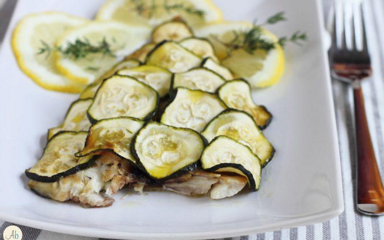 Orata in Crosta di Zucchine