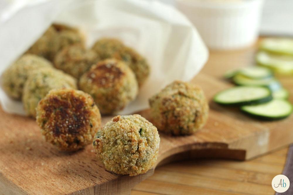 Polpettine di Quinoa e Zucchine al Forno