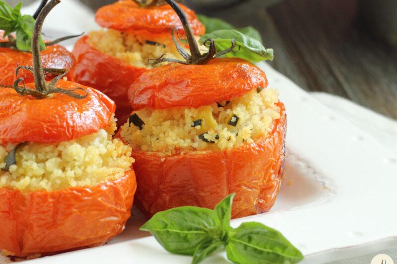 Pomodori ripieni di Cous Cous e Verdure – nel Fornetto