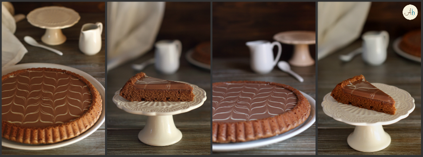 Torta ai 3 cioccolati