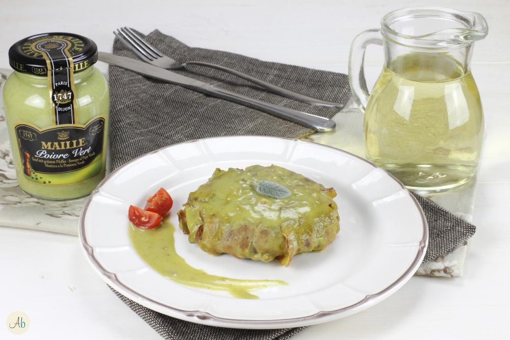Hamburger fasciati di Pancetta con Salsa di Senape