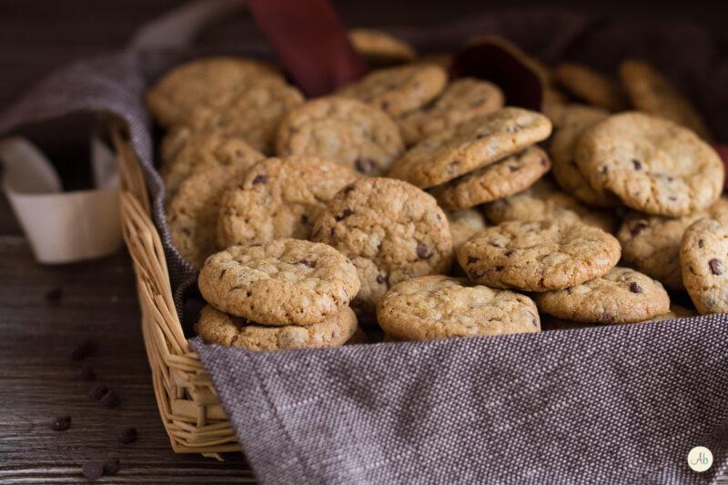 Cookies Americani –  biscotti al cioccolato