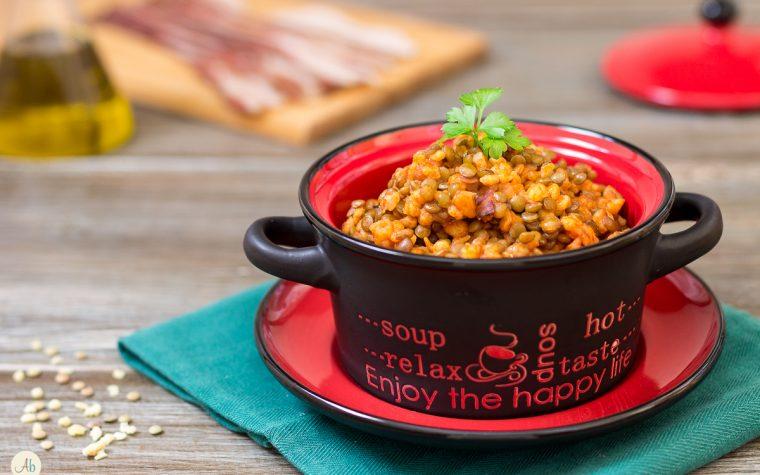 Pasta con lenticchie – primo piatto