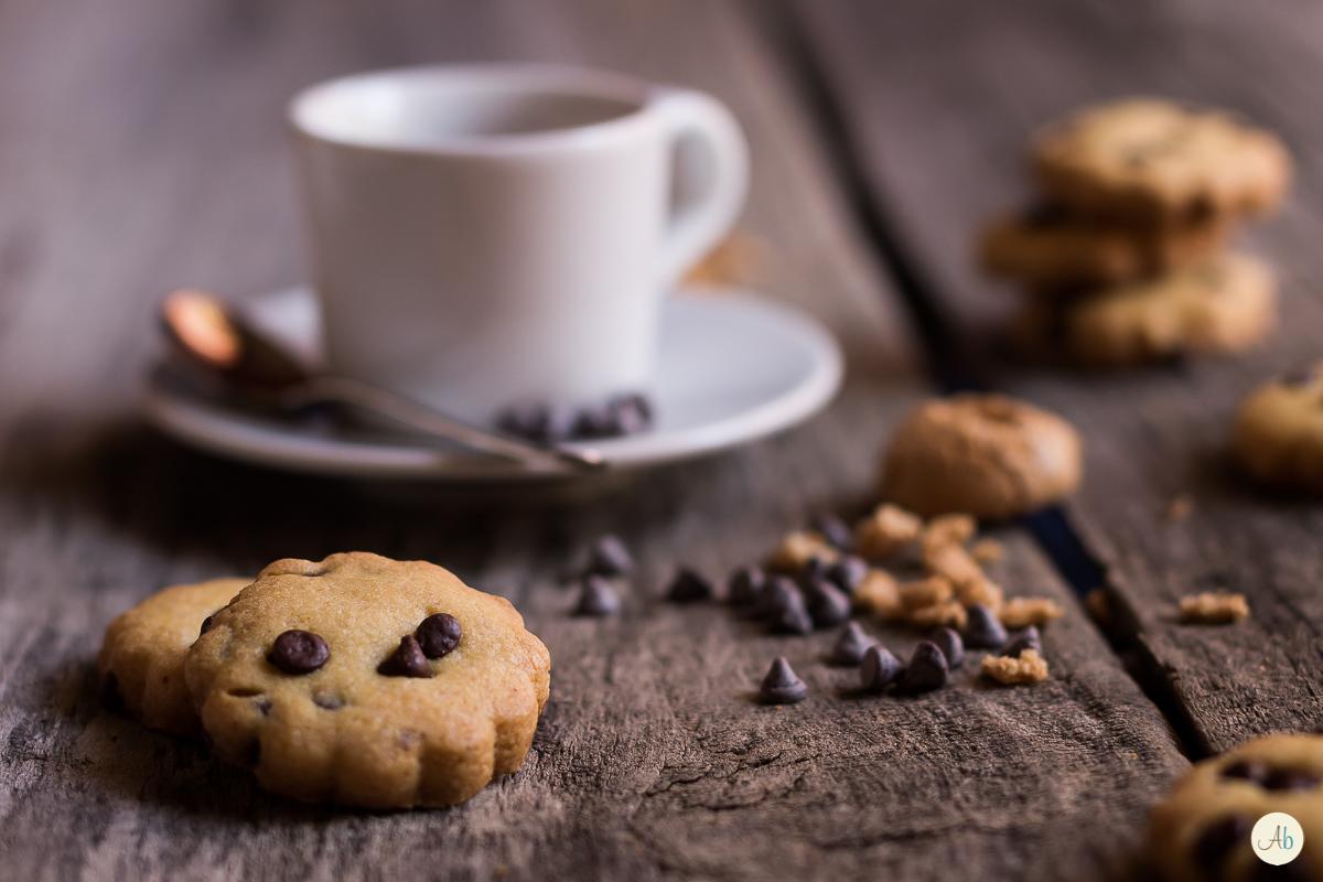Biscotti amaretto e cioccolato