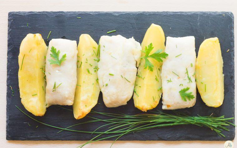 Merluzzo e patate al forno con citronette