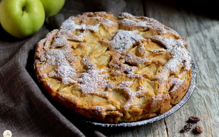 Torta di mele e uvetta di Don Licio