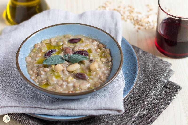 Zuppa di farro e legumi della Garfagnana