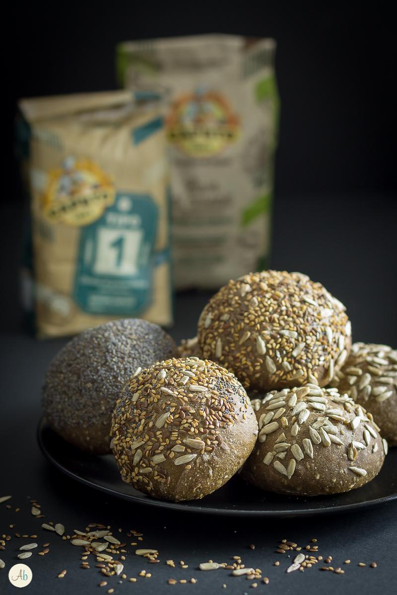 Panini ai cereali e semi oleosi