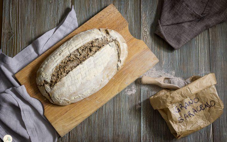 Pane al grano saraceno con lievito madre