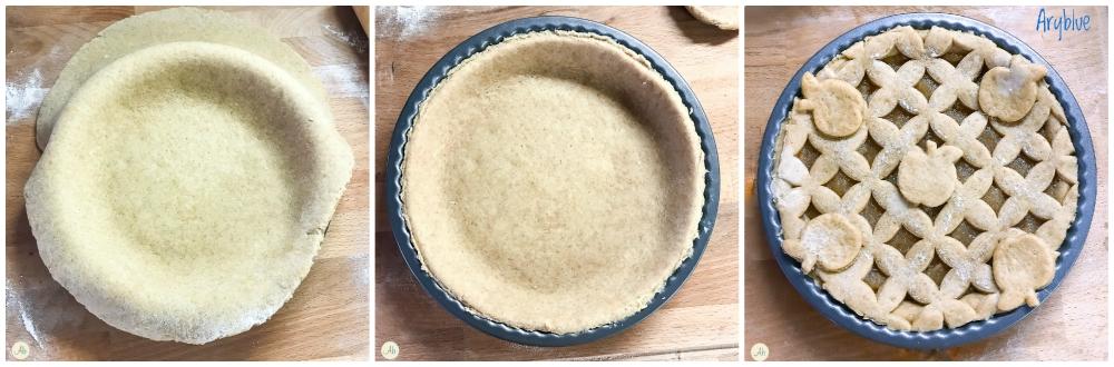 Crostata vegan con malto di riso