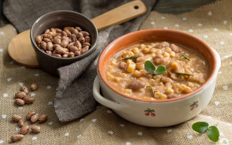 Pasta e fagioli e la vera dieta mediterranea