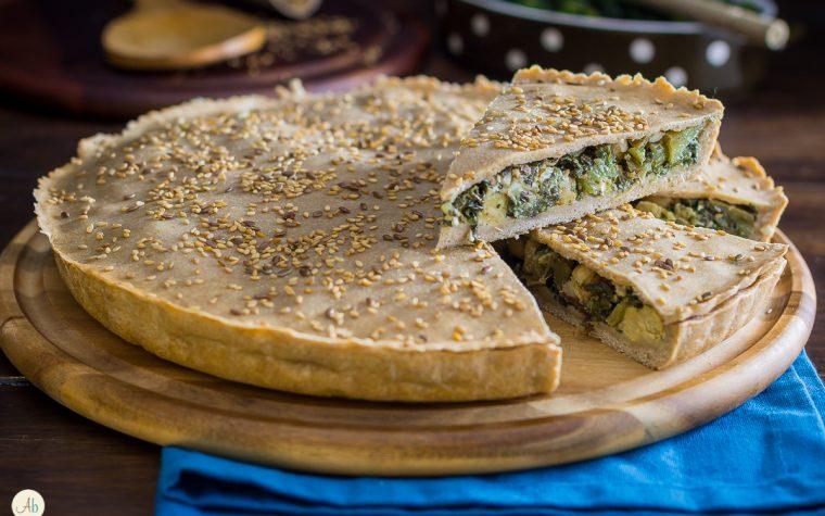 Torta salata di cicoria – ricetta macromediterranea