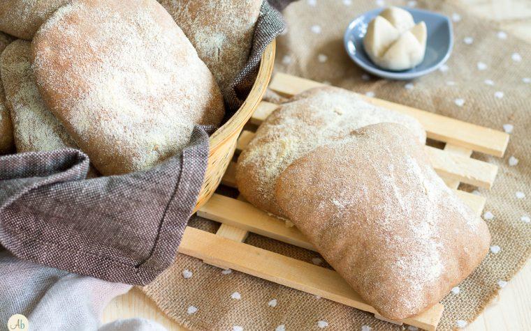 Pane arabo di grani antichi e lievito madre