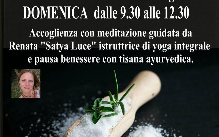 Appunti di alimentazione consapevole e Meditazione a Montagnana